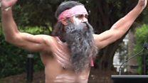 У Австралії урочисто підняли прапори аборигенів
