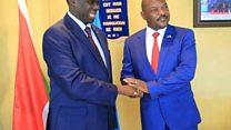Michel Kafando à Bujumbura