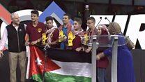 أنا الشاهد: نجوم الروبوت الأردني أبطالا للعالم