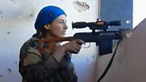 Снайперська дуель: куля бойовика пройшла біля голови