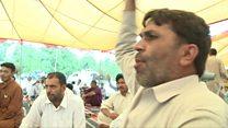 پاڑہ چنار کے متاثرین کا احتجاج جاری