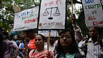 ভারতে গোরক্ষার নামে মুসলিমদের ওপর হামলার প্রতিবাদ
