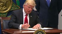 اجرای فرمان مهاجرتی دونالد ترامپ آغاز میشود
