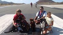 Ascension Island: 'We are stranded here'