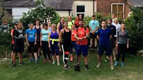 Runners mix exercise with good deeds