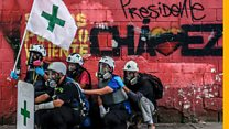 The first-aiders of Venezuela