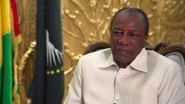 Alpha Conde: Il faut que les gens respectent l'Afrique