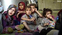 تنظيم الدولة يستخدم أطفالا أيتاما كدروع بشرية