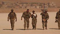 حمایت ارتش آمریکا ائتلاف شبه نظامیان کرد و عرب در سوریه