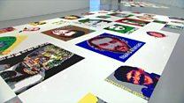 """نمایشگاه """"رد پا"""" در واشینگتن پایتخت امریکا"""