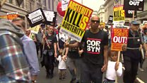 Thousands join anti-austerity march
