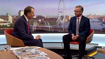 Gove's quick-fire answers on Marr show