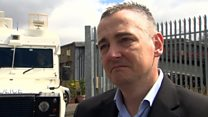 Family 'devastated' by Belfast factory fire