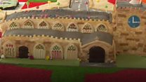 East Lindsey made out of cake