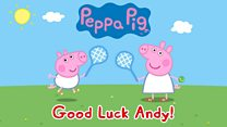 Peppa Pig's Wimbledon advice for Andy Murray