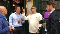 Hero Millwall fan returns to London Borough Market attack