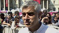 صديق خان لبي بي سي: لندن من أكثر المدن أماناً في العالم