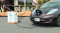 سيارات كهربائية تزود المنزل بالكهرباء