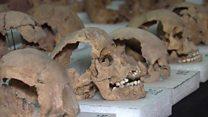 كشف جماجم بشرية في المكسيك بثت الرعب في نفوس الغزاة الإسبان