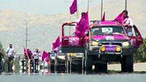 اعتراض به ناامنی در کابل؛ تظاهرات در پایتخت افغانستان آرام برگزار شد