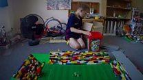 Lego lover builds stadium tribute