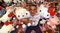 Meet Hello Kitty's biggest fan