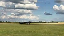 Lincolnshire Lancaster back in the skies
