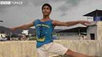 Bir yetenek hikayesi: 16 yaşındaki balet Amir