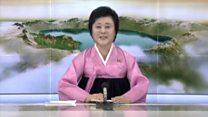 North Korea state TV announces missile test
