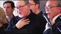 El concierto del coro de pacientes de cáncer de laringe que no tienen cuerdas vocales