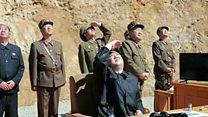 မြောက်ကိုရီးယား တိုက်ချင်းပစ် ဒုံးကျည်ပစ်လွှတ်