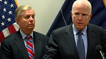 سفر سناتورهای آمریکا به افغانستان؛ آستانه اعلام استراتژی جدید واشنگتن برای کابل