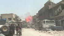 ТВ-новости: курдское ополчение прорвалось в центр Ракки