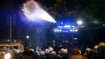 Riot police disperse G20 protesters