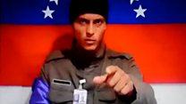 """""""Estamos en Caracas"""": el nuevo mensaje del prófugo Óscar Pérez, el piloto del helicóptero que atacó al TSJ en Venezuela"""