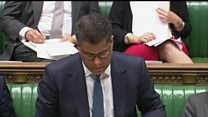 Minister shows emotion during Grenfell statement