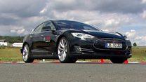 'Driverless' Tesla car gets Bosch brain