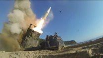 El ejercicio militar de Estados Unidos y Corea del Sur en respuesta al misil balístico de Corea del Norte