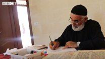 Turabidin'de bir köy papazı