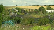 Church plans to sell village allotments