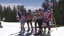 US celebrates 4 July by hitting the slopes