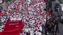 La Turquie marche pour la justice