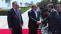 دیدار رئیس جمهور پاکستان با امام علی رحمان پیرامون ایجاد ثبات در افغانستان