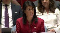 North Korea: US 'prepared' to use all options