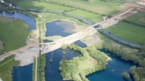 £1.5bn A14 upgrade from the air