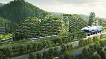 """""""เมืองแห่งป่า""""เมืองแห่งอนาคตช่วยลดมลพิษในจีน"""