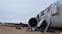 New video of San Francisco plane crash