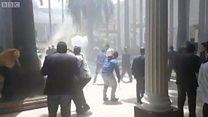 भेनेजुएलाको संसदमा हमला