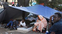 Migrants evicted from Paris street camp