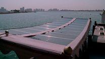 عبّارة مائية تعمل بالطاقة الشمسية في دبي